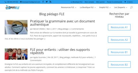 Les Zexperts, des ressources pour apprendre le français et le FLE