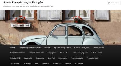 Le Webpédagogique, ressources français, FLE
