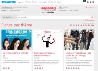 TV5Monde apprendre le français