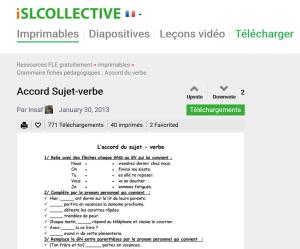 ISLCollective apprendre le français et le FLE