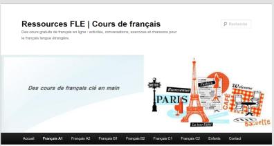 RessourcesFLE pour apprendre le français et le FLE