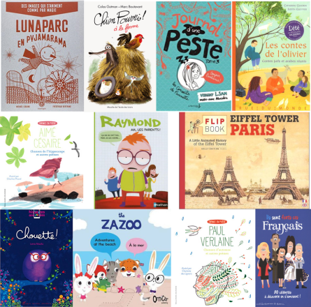 10 books in French Children