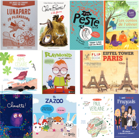10 books in French Children